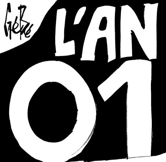 vignette noire où il est écrit l'An 01
